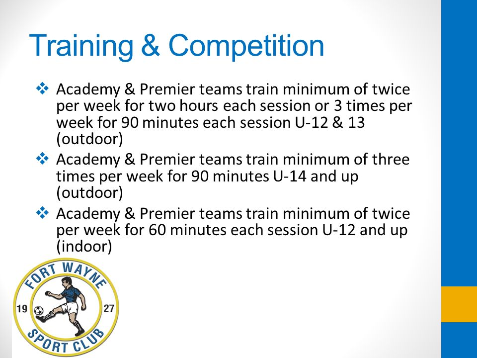 Training & Competition