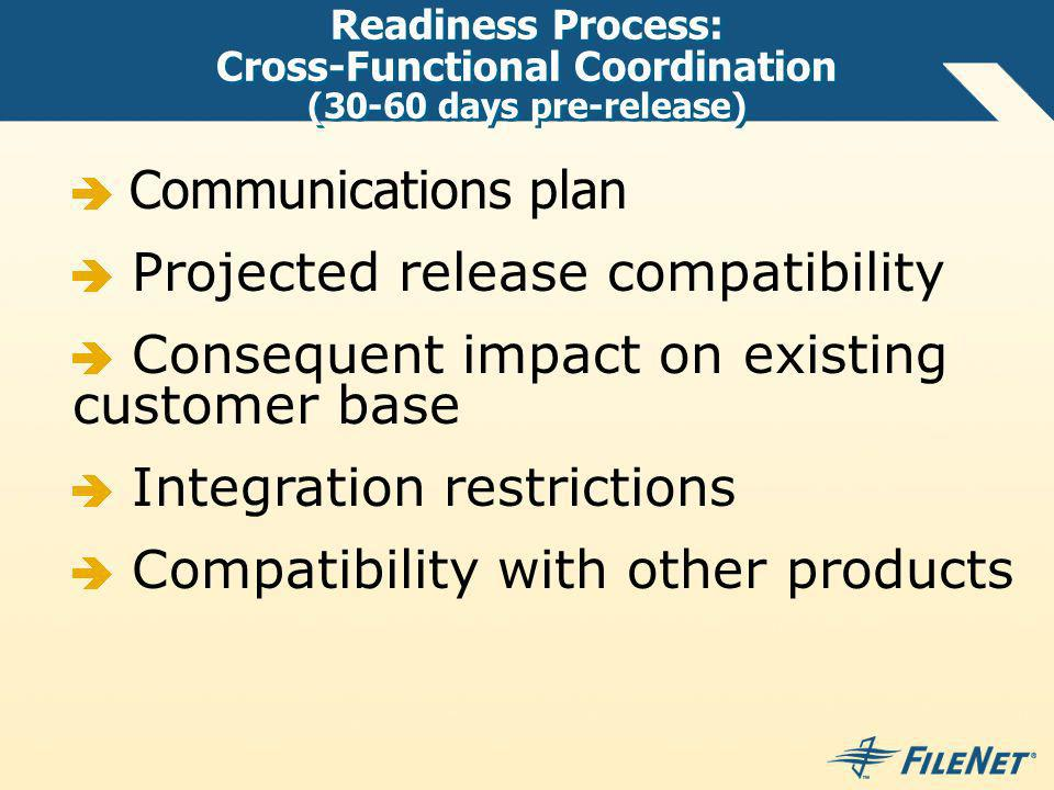 Projected release compatibility