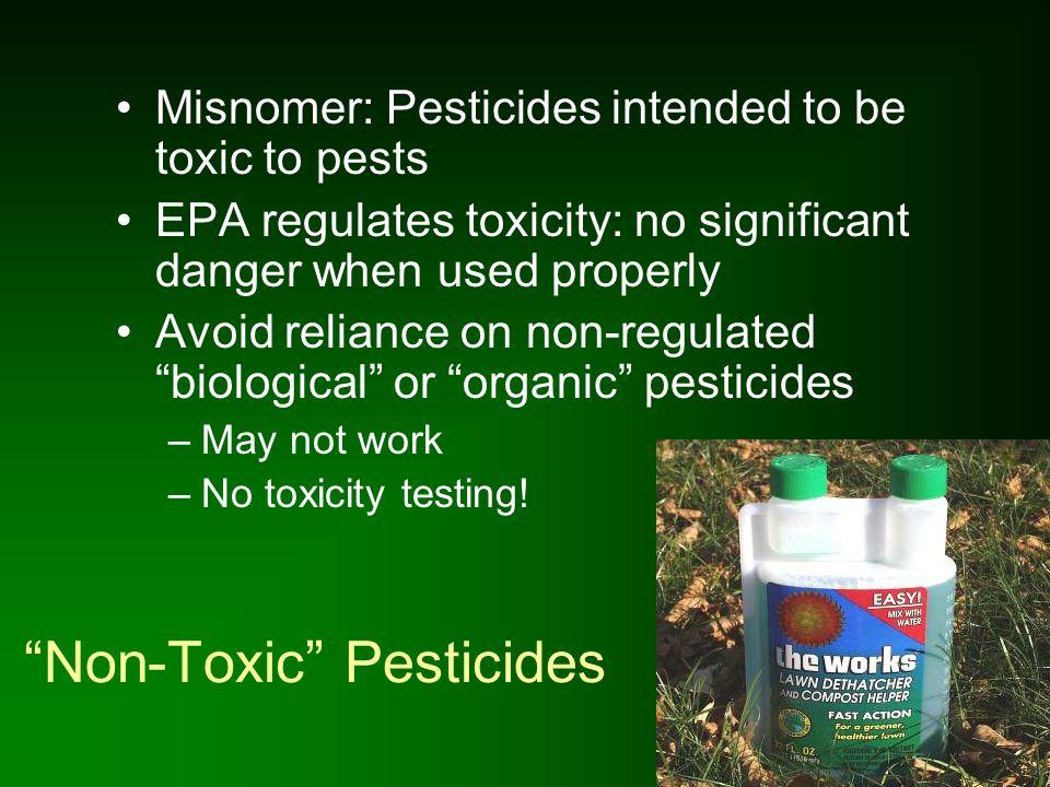 Non-Toxic Pesticides