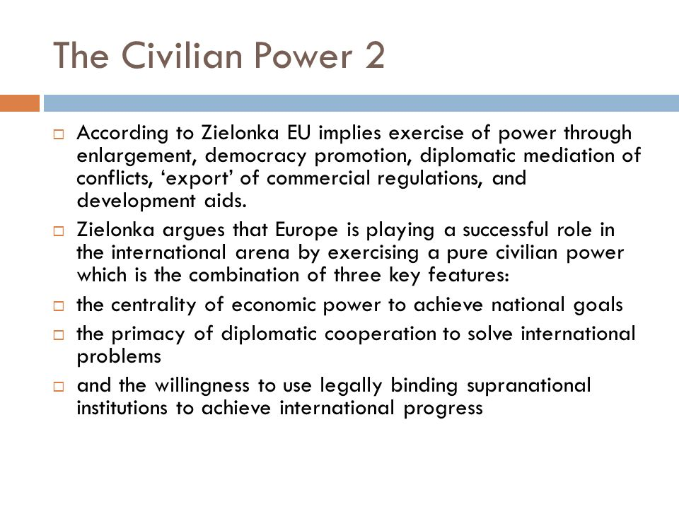 The Civilian Power 2
