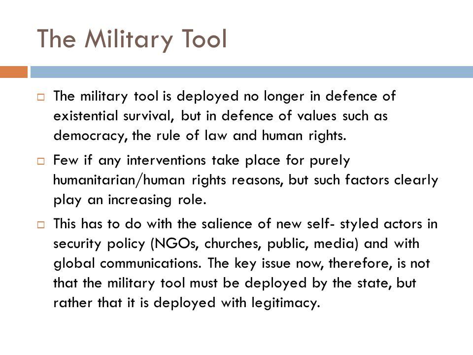 The Military Tool