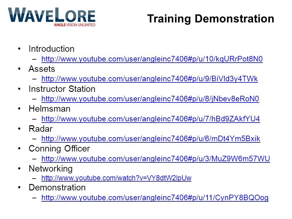 Training Demonstration