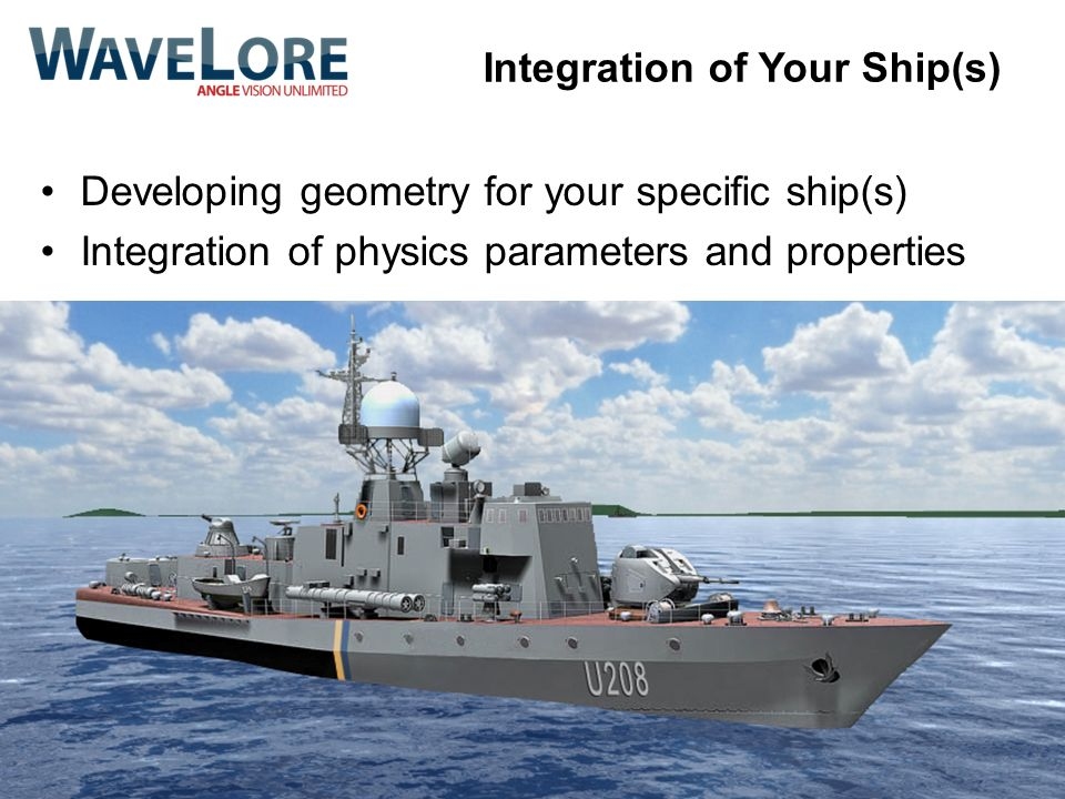 Integration of Your Ship(s)