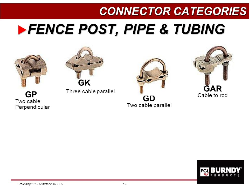 FENCE POST, PIPE & TUBING