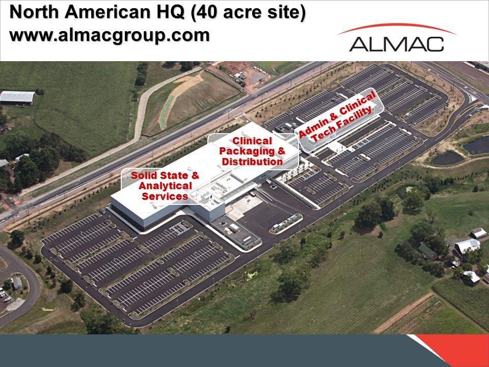 North American HQ (40 acre site) www.almacgroup.com