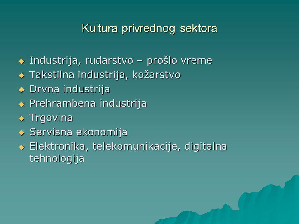 Kultura privrednog sektora