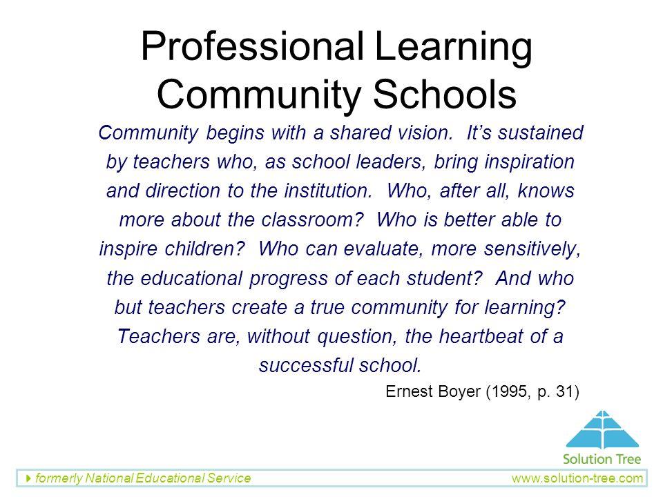Professional Learning Community Schools