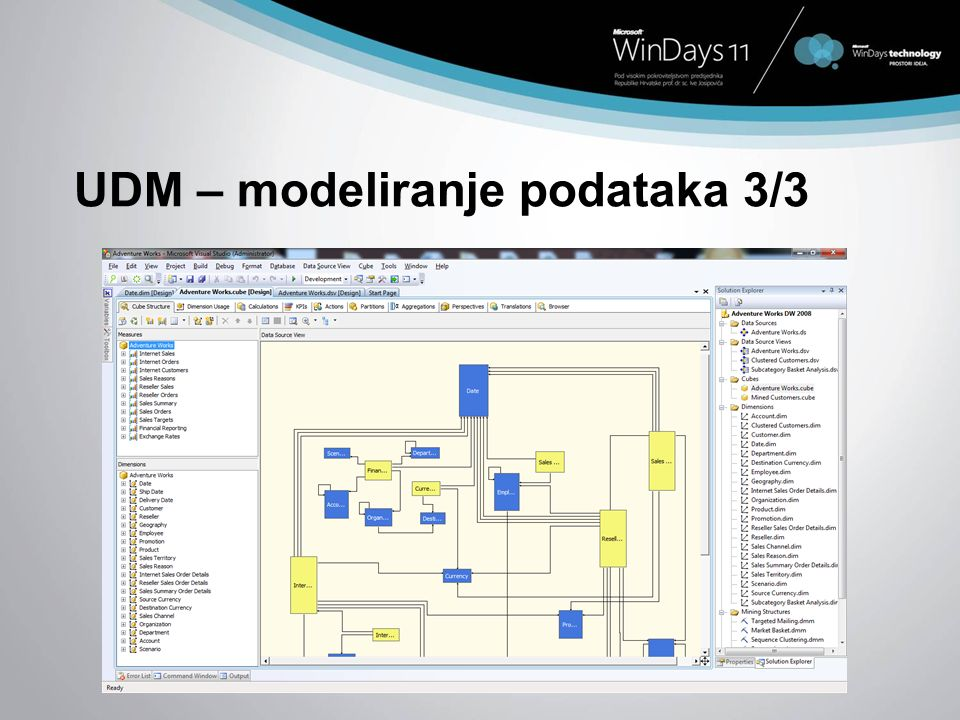 UDM – modeliranje podataka 3/3