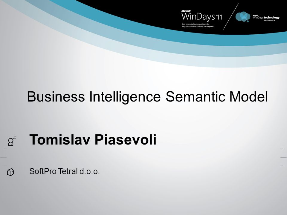 Business Intelligence Semantic Model