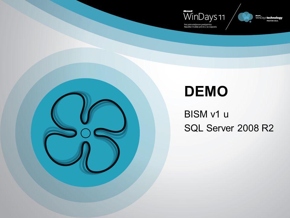 DEMO BISM v1 u SQL Server 2008 R2
