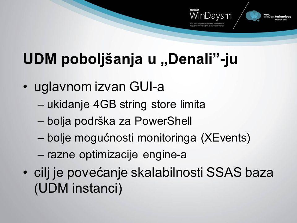 """UDM poboljšanja u """"Denali -ju"""