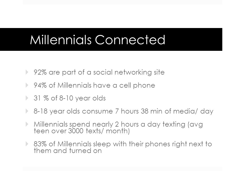 Millennials Connected
