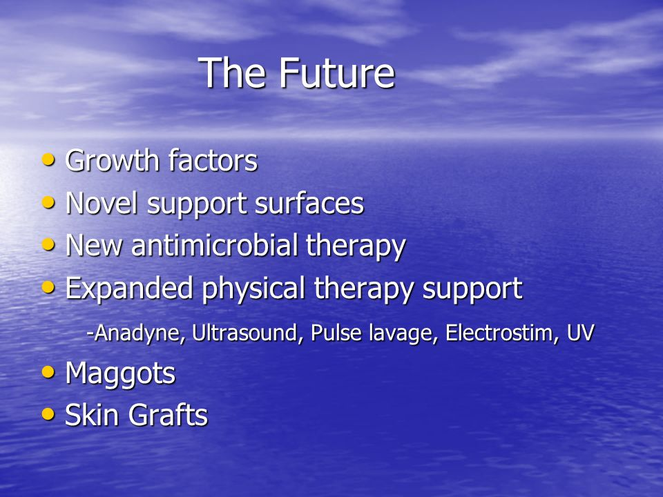 The Future Growth factors Novel support surfaces