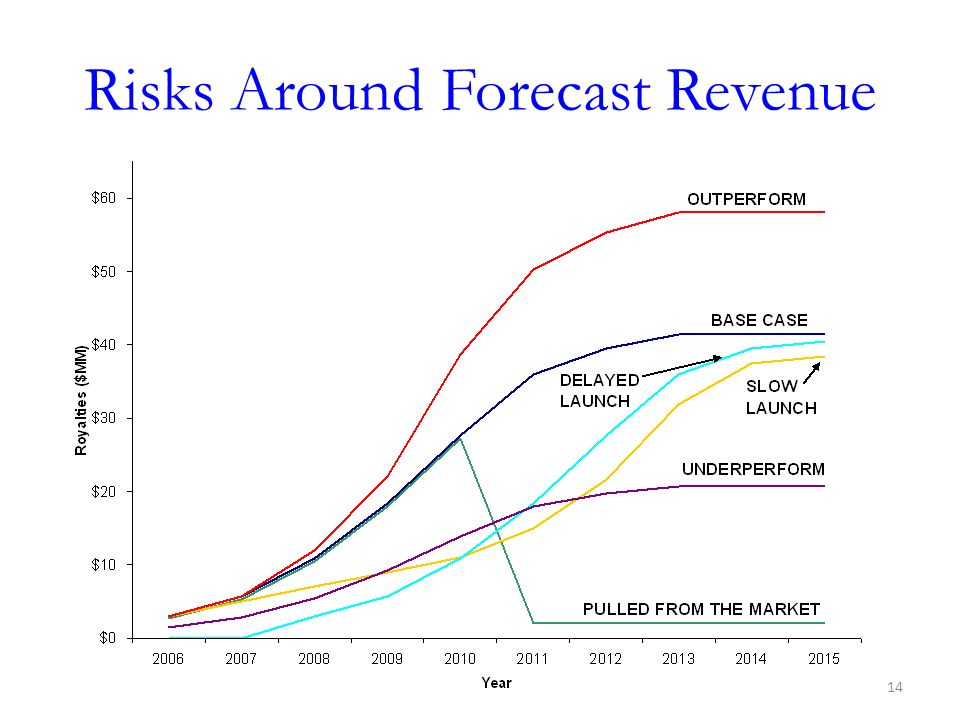Risks Around Forecast Revenue