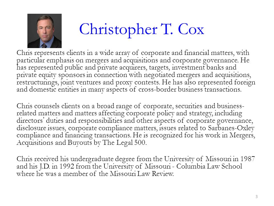 Christopher T. Cox
