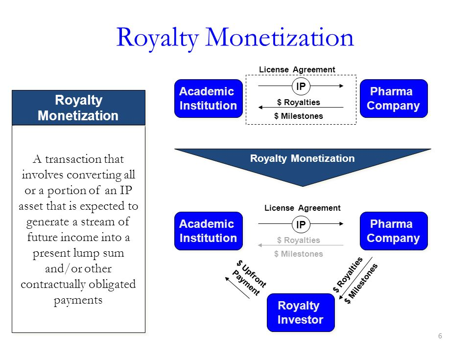 Royalty Monetization Royalty Monetization
