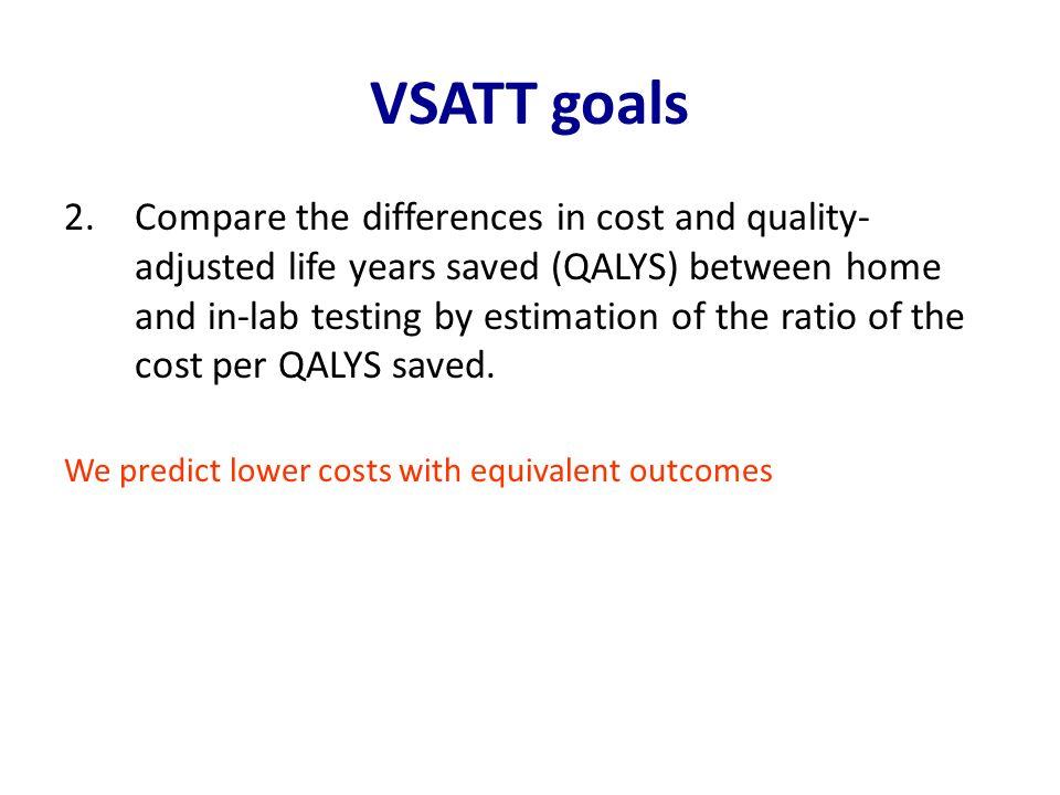VSATT goals