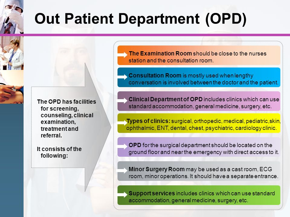Out Patient Department (OPD)