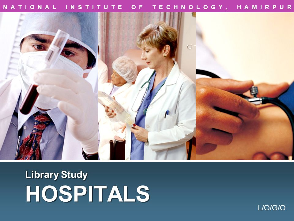 Library Study HOSPITALS
