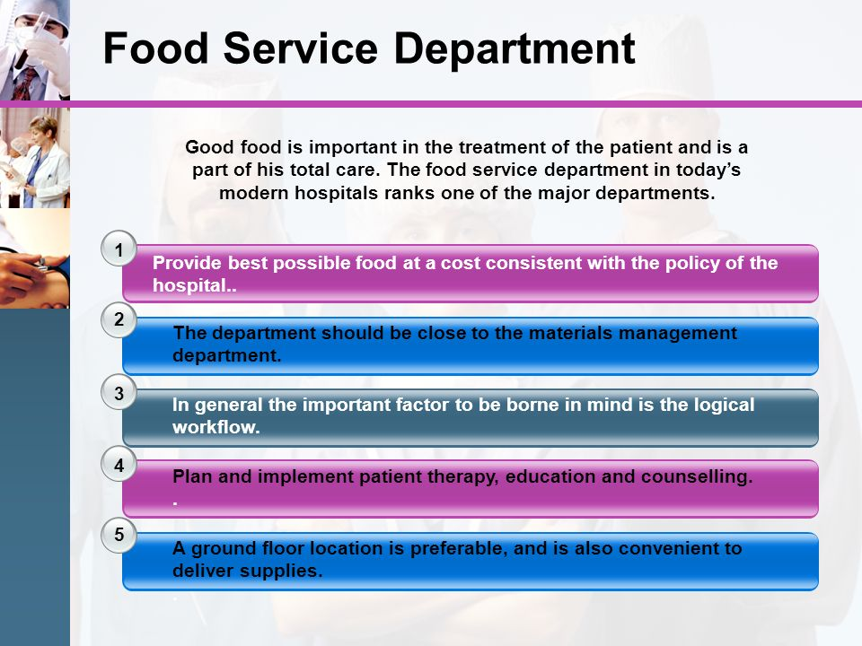 Food Service Department