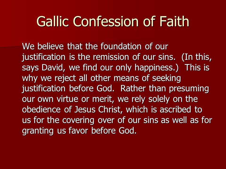 Gallic Confession of Faith