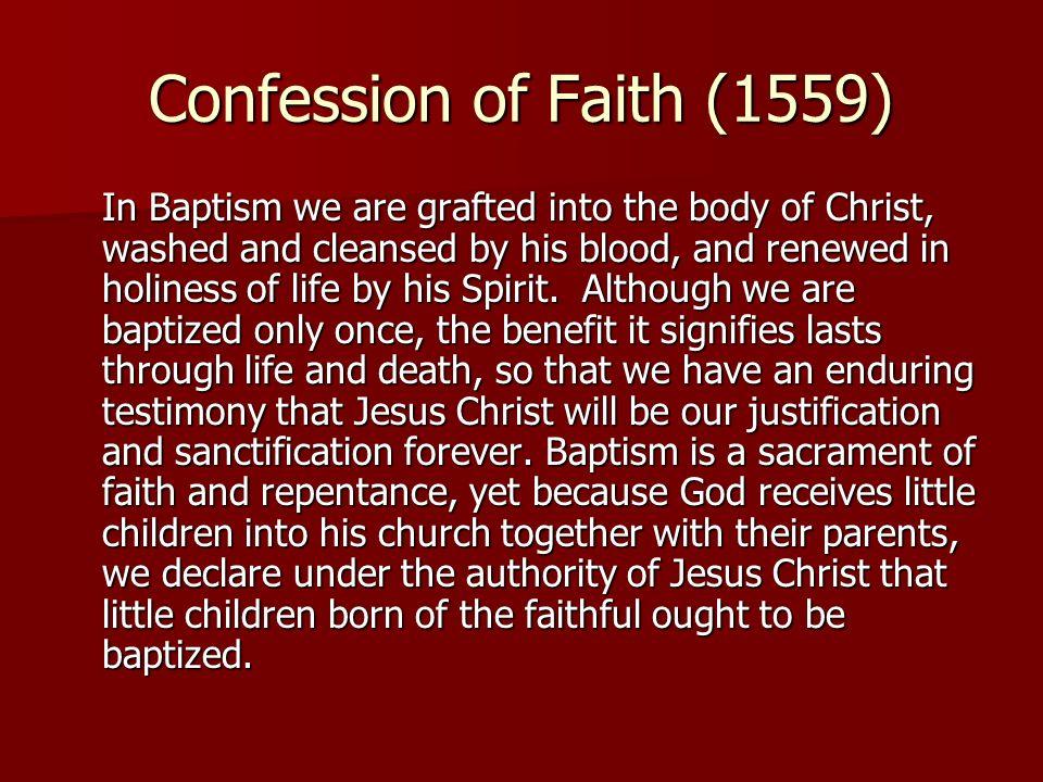 Confession of Faith (1559)