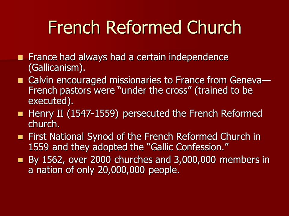 French Reformed Church