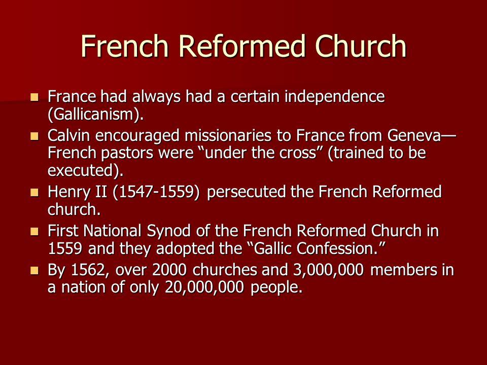 French Reformed Church