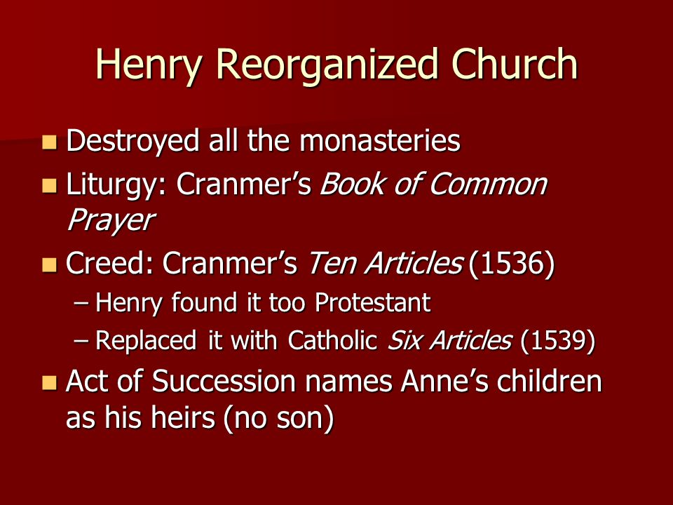 Henry Reorganized Church