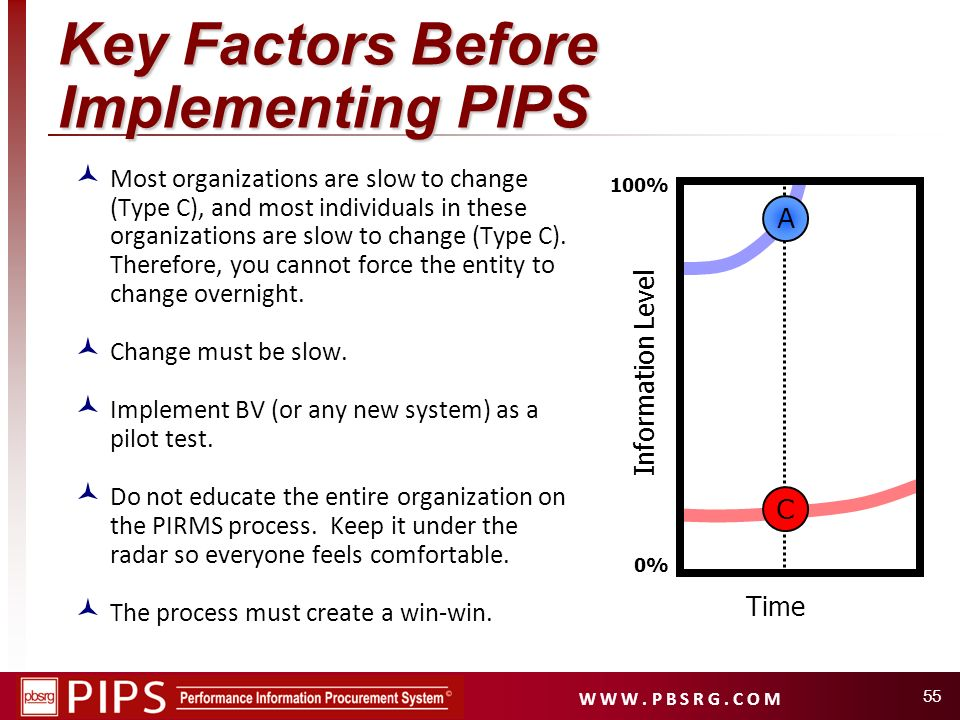 Key Factors Before Implementing PIPS