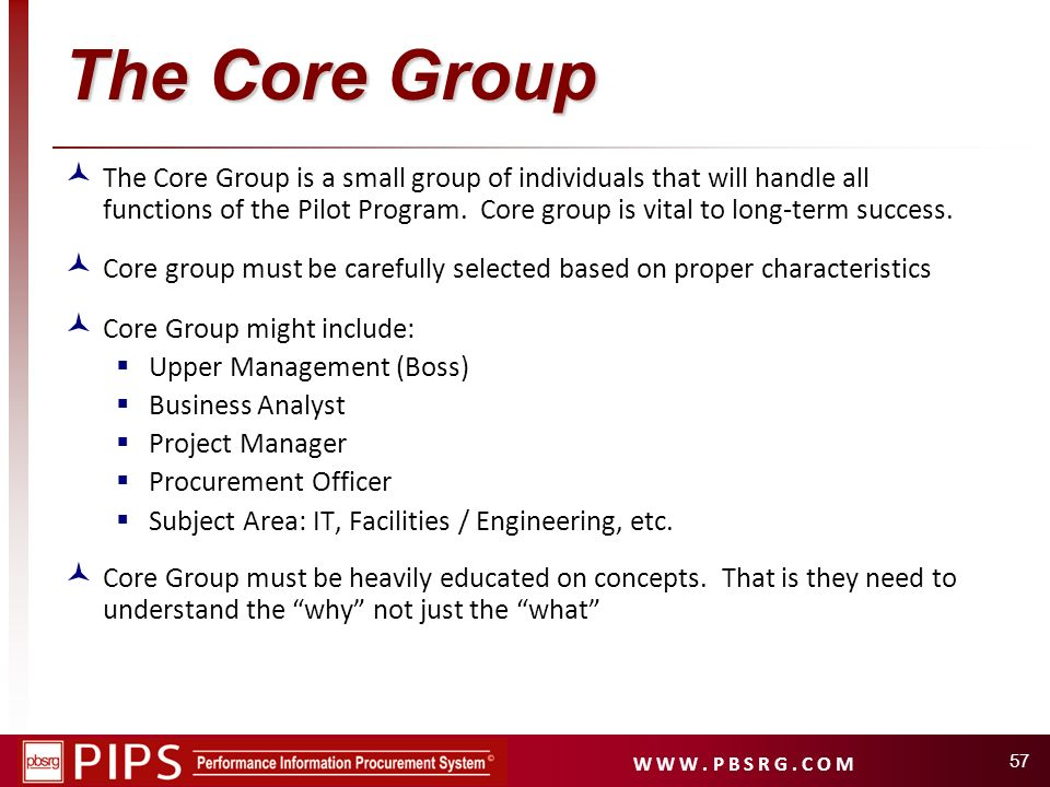 The Core Group
