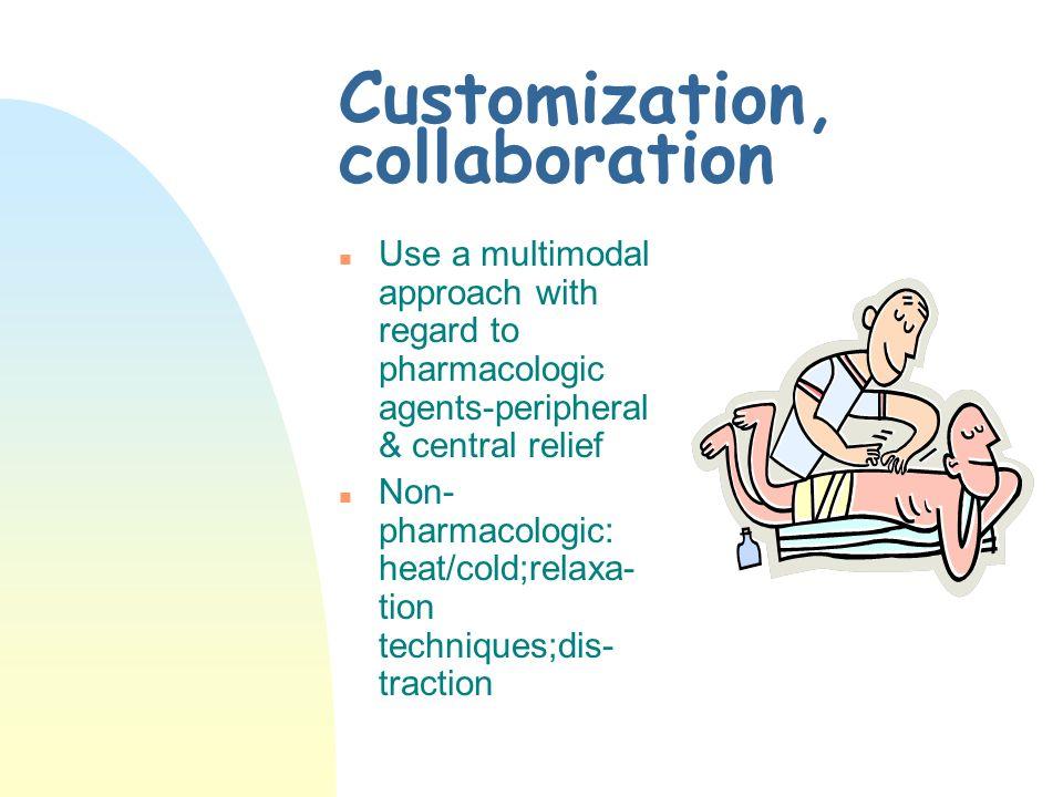 Customization, collaboration