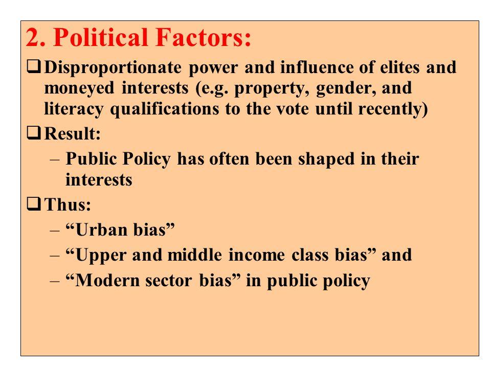 2. Political Factors: