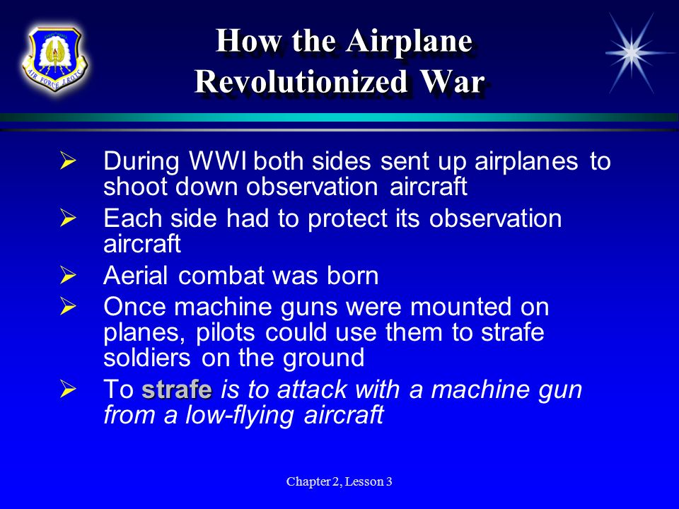 How the Airplane Revolutionized War