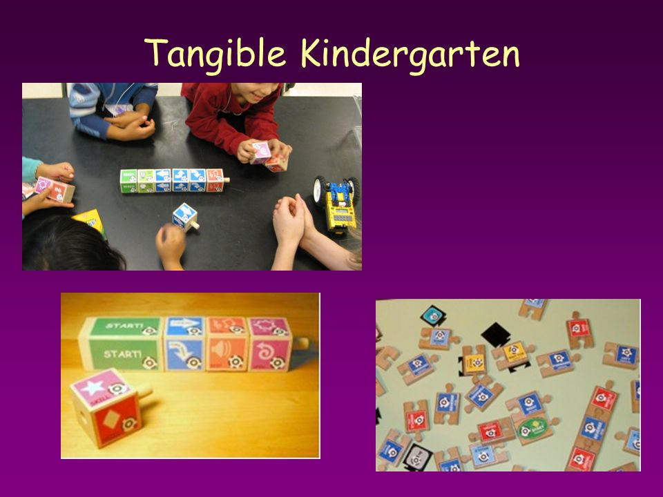 Tangible Kindergarten