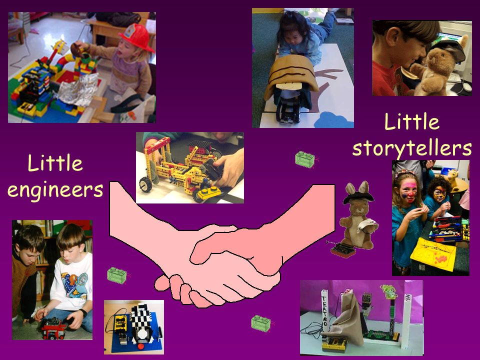 Little storytellers Little engineers