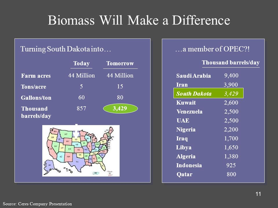 Biomass Will Make a Difference
