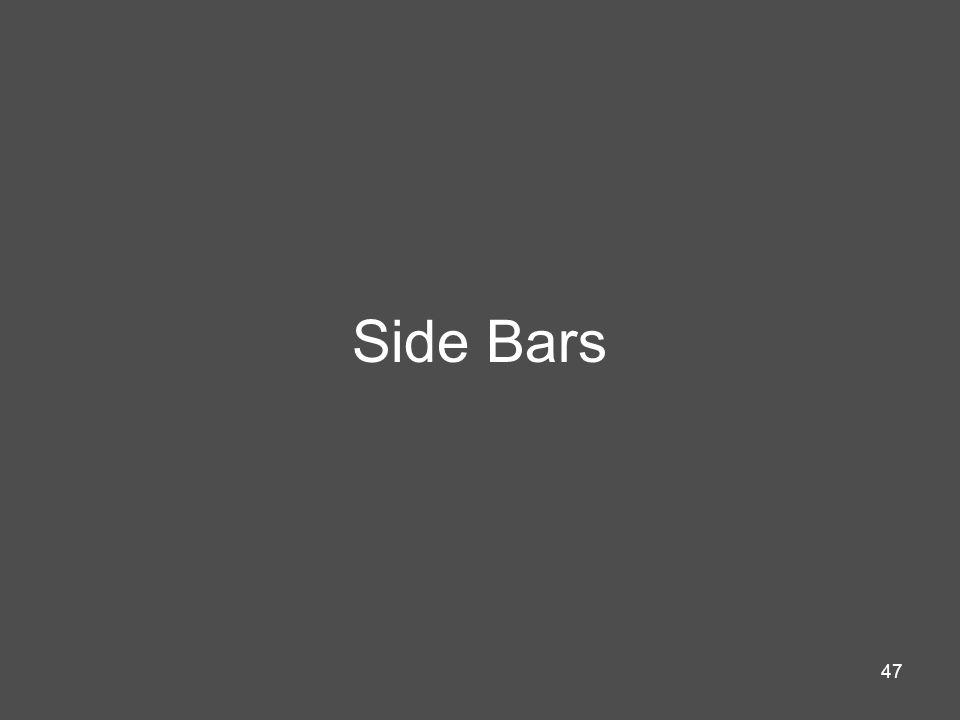 Side Bars