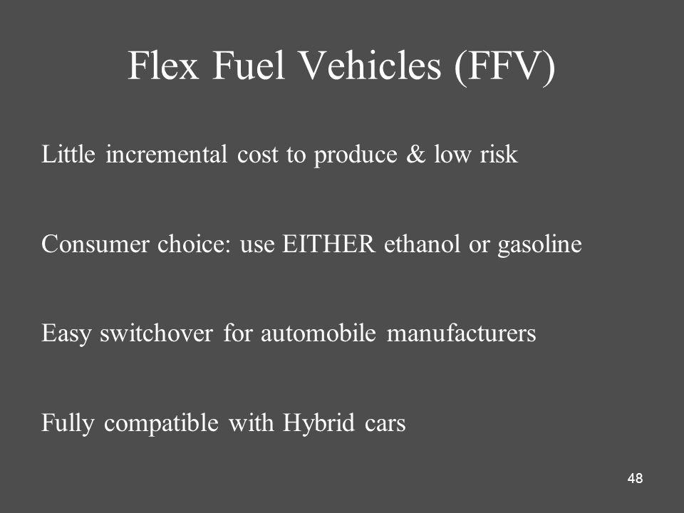 Flex Fuel Vehicles (FFV)