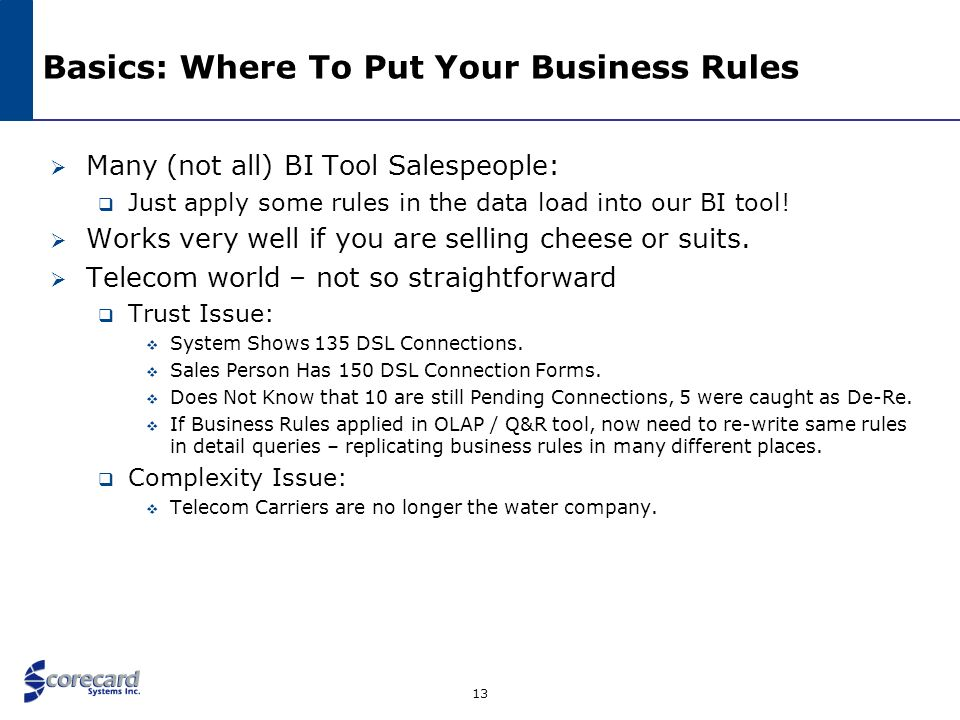 Basics: Where To Put Your Business Rules