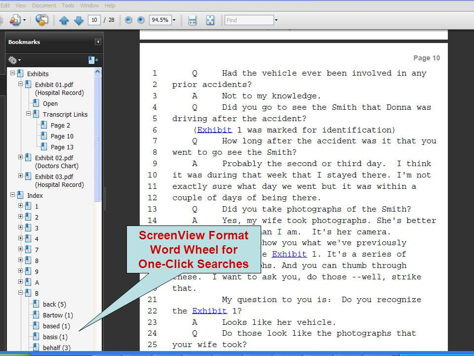 ScreenView Format Word Wheel for