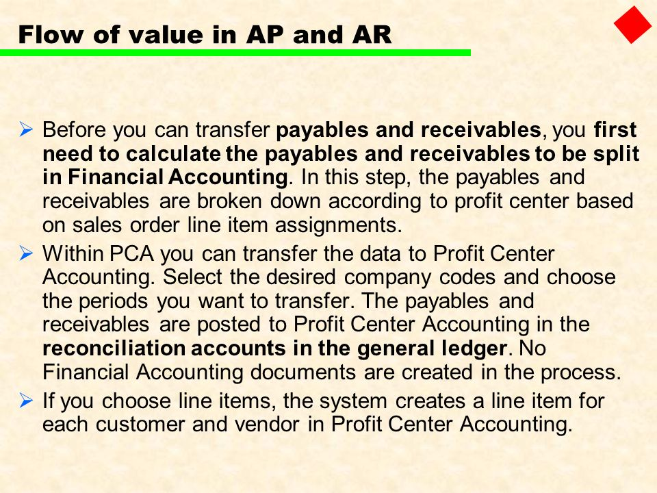 Flow of value in AP and AR