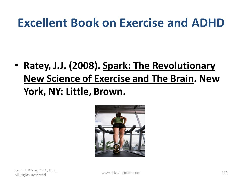 Excellent Book on Exercise and ADHD