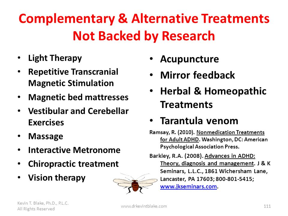 Complementary & Alternative Treatments Not Backed by Research