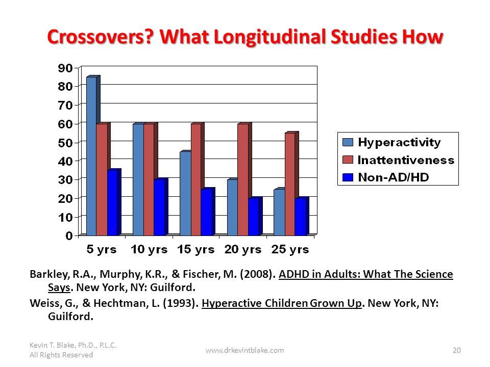 Crossovers What Longitudinal Studies How