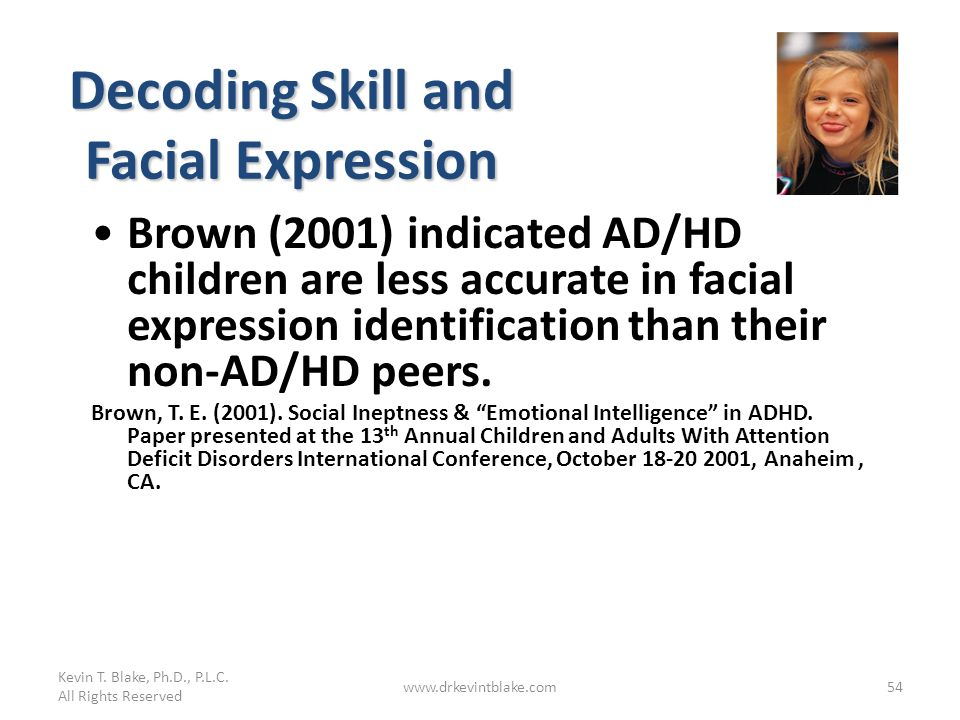 Decoding Skill and Facial Expression