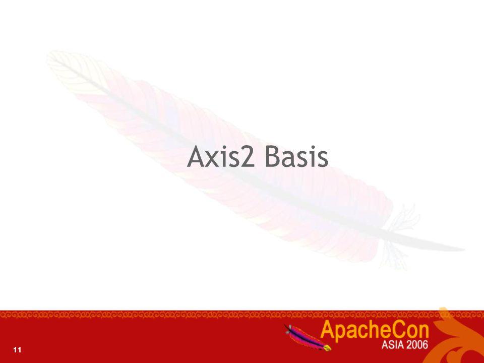 Axis2 Basis 11