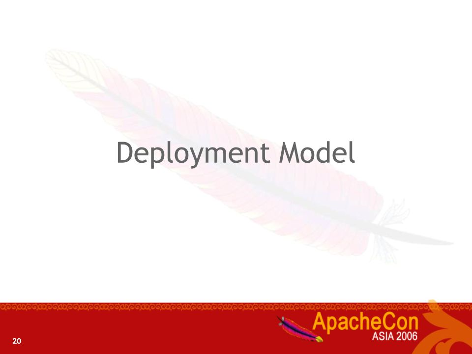 Deployment Model 20