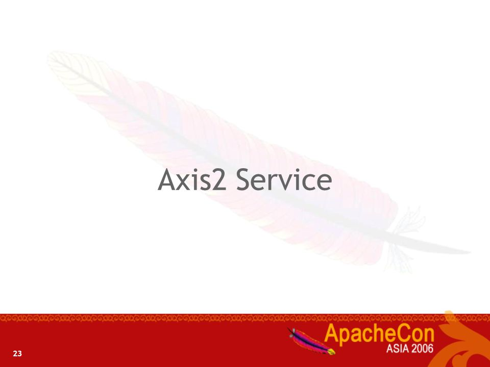 Axis2 Service 23