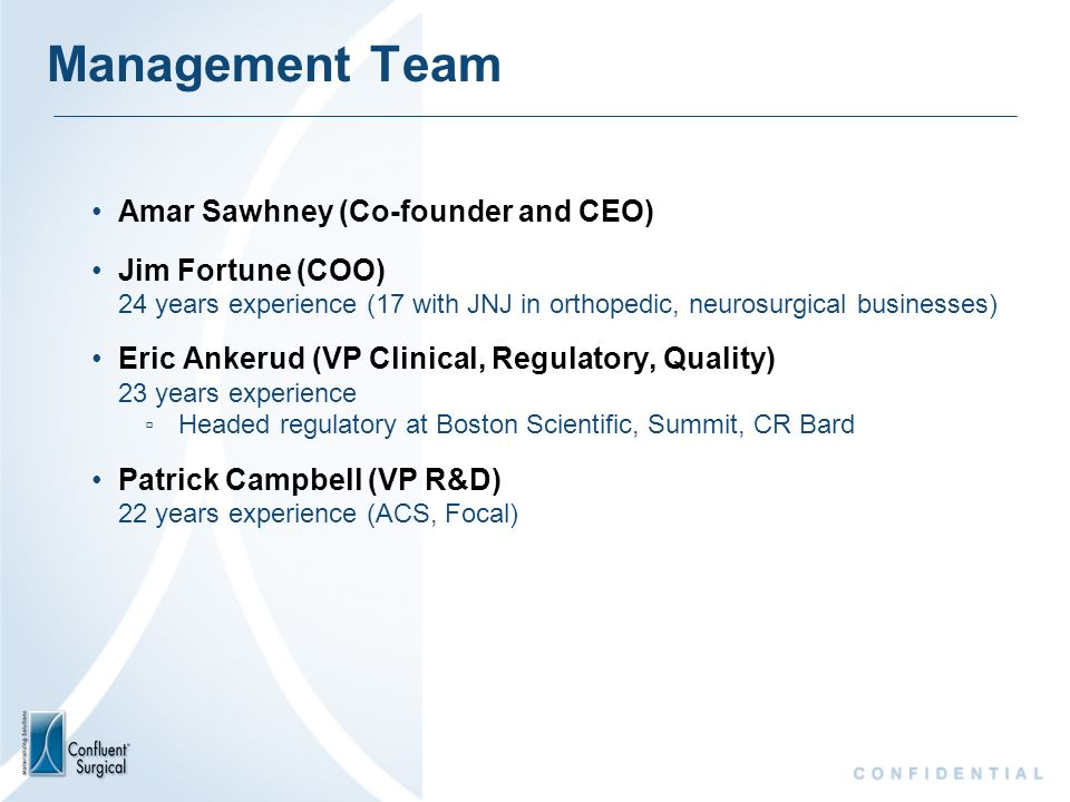 Management Team Amar Sawhney (Co-founder and CEO)